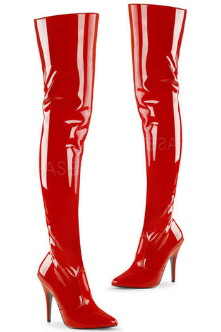 Pleaser SEDUCE 3010 Boots Red