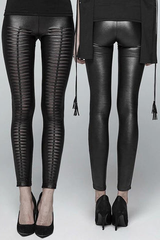 Punk Rave She Devil Leggings Black WK-342