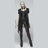 Punk Rave She Devil Leggings Red WK-342