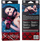 Scandal Bar Gag, Luxurious Designer Bar Gag - Fetshop