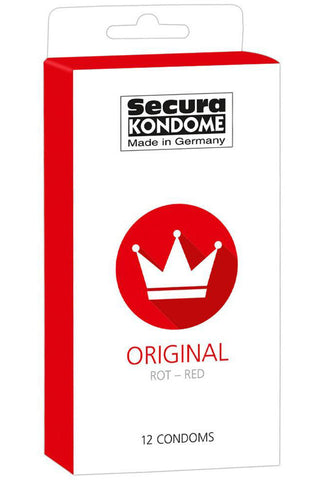 Secura Kondome Original Red 12 Pack