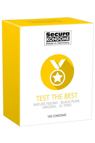 Secura Kondome Test the Best 100 Pack