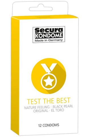 Secura Kondome Test the Best 12 Pack