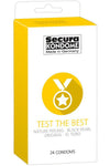 Secura Kondome Test the Best 24 Pack
