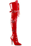 Pleaser SEDUCE-3028 Boots Red