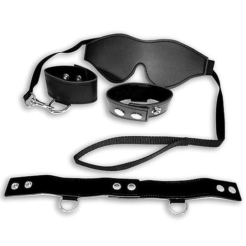 Sex and Mischief Black Bondage Kit - Fetshop