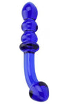 Spectrum Ribbed G-Spot Glass Dildo