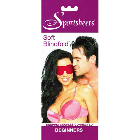 Sportsheets Beginners Soft Red Blindfold - Fetshop