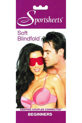 Sportsheets Beginners Soft Red Blindfold