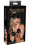 SportSheets Lace and Satin Lover Kit Black