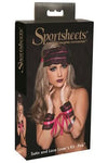 SportSheets Lace and Satin Lover Kit Pink