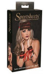 SportSheets Lace and Satin Lover Kit Red