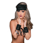 SportSheets Lace and Satin Lover Kit Black - Fetshop
