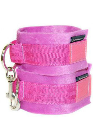 Sportsheets Soft Cuffs Hot Pink