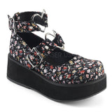 Demonia SPRITE-02 Shoes Floral