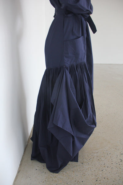 Navy Long Dress