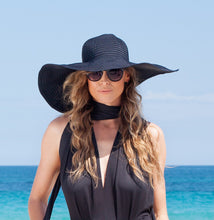 Black Strong Sun Hat