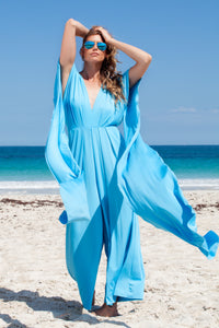 Sky Blue Saint Tropez Signature Jumpsuit
