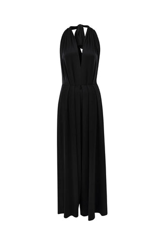 Black Saint Tropez Signature Jumpsuit