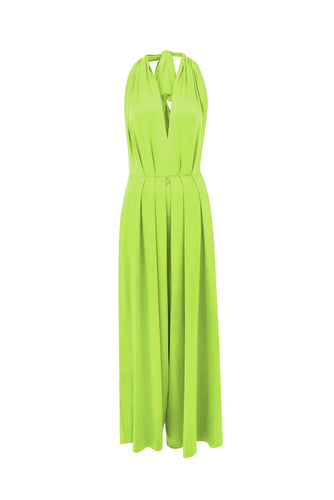 Lime Green Saint Tropez Signature Jumpsuit