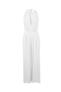 Lilac White Saint Tropez Signature Jumpsuit