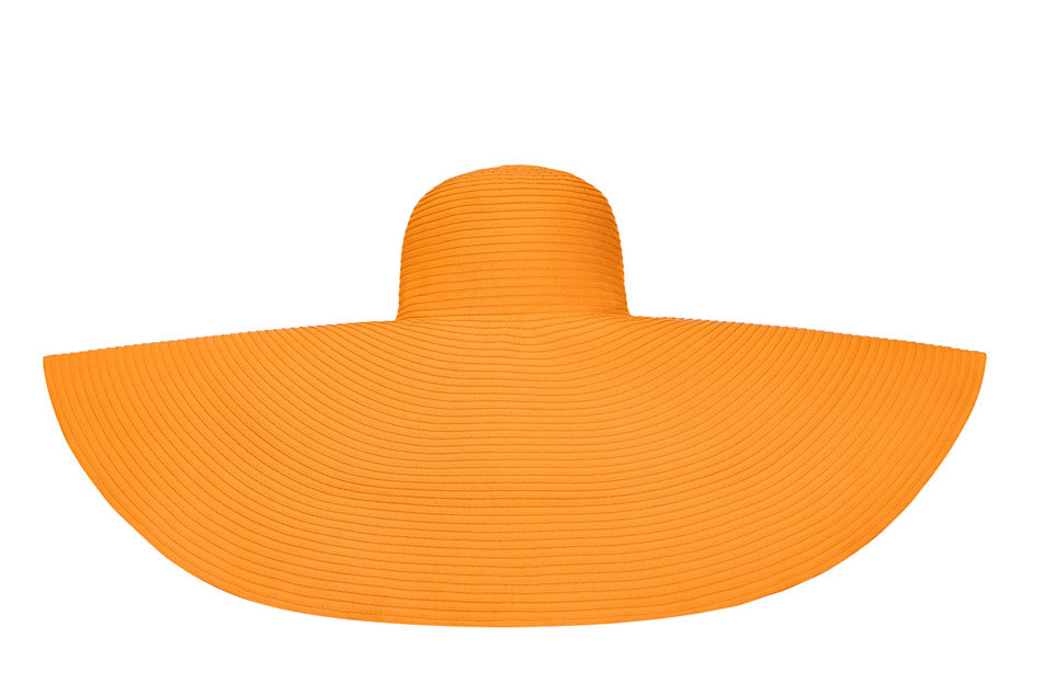 Orange La Plage Hat(Super Large)
