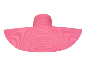 Pink La Plage Hat(Super Large)
