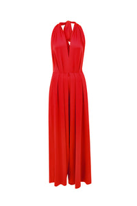 Red Saint Tropez Signature Jumpsuit