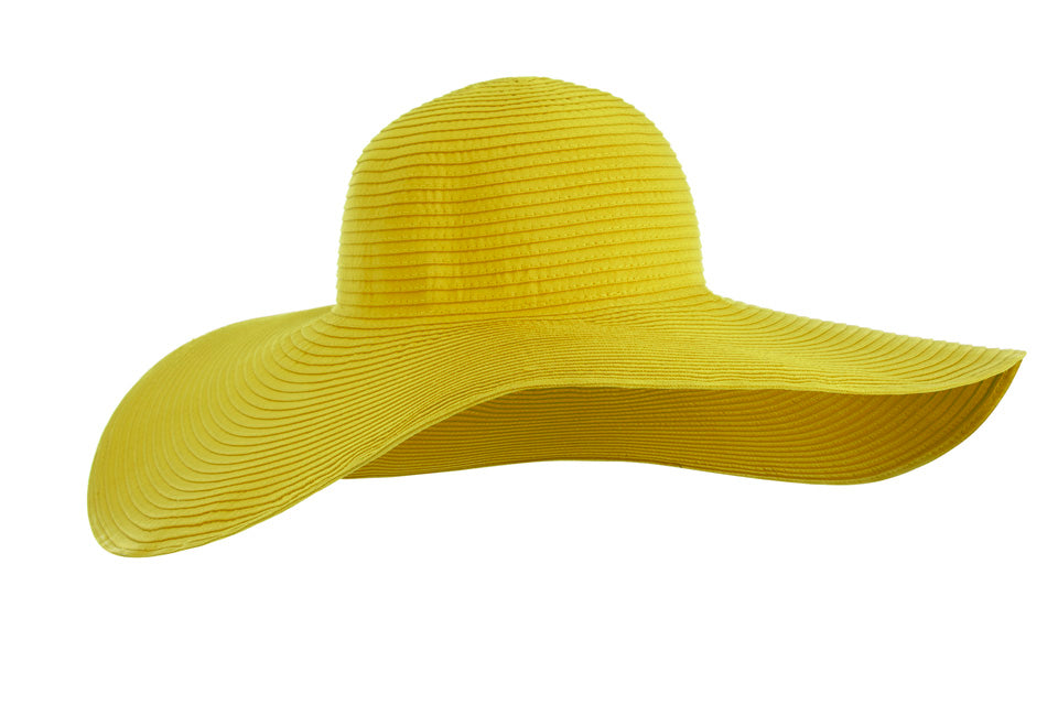 Yellow Strong Sun Hat