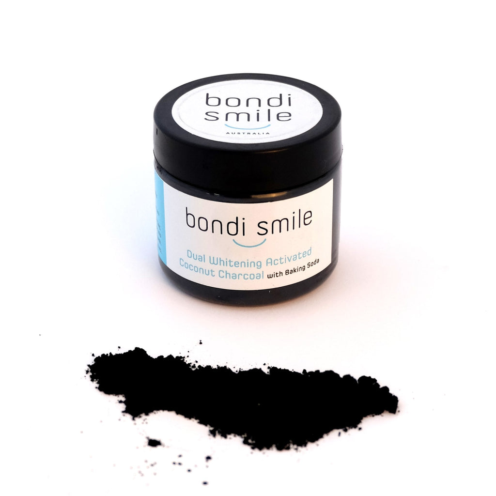 Dual Whitening Activated Coconut Charcoal with Baking Soda
