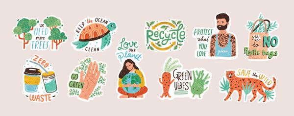 Environmental Sustainability Stickers