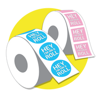 Order Custom Labels on Rolls Canada