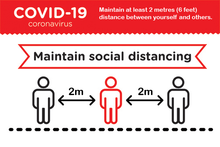 Covid-19 - Social Distancing - Sticker packs