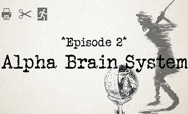Print at Home Escape Game- Alpha Brain System