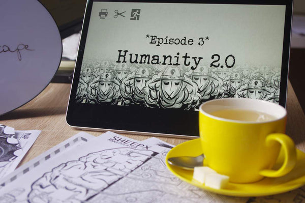 Print at Home Escape Game- Humanity 2.0