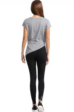 Comfortable Gray shirt Activewear