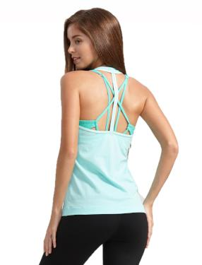 Turquoise Power Up Tank Top