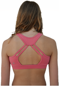 Virtue Sports Bra Dusty Rose