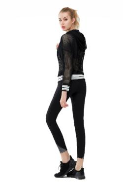 Achieve 7/8 Length Black Yoga Legging