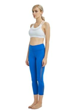 Mesh Ventilation 7/8 Length Yoga Pant Legging
