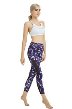 Yoga Leggings Floral Print Luxury Feel