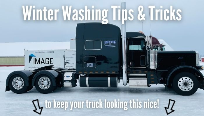 How to wash a truck in the winter tips and tricks