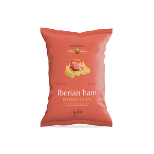 Lberian Ham Flavour Spanish Potato Chips (125g) Online - Arcimports.ca