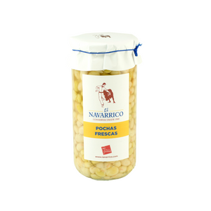 Fresh Haricot Beans in Brine (720ml) - Natural Vegetables in Navarra