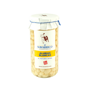 White Haricot Beans in Brine (720ml) - ARC IBERICO IMPORTS