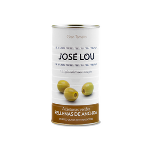 Jose Lou Manzanilla Olives Stuffed with Anchovy - ARC IBERICO IMPORTS