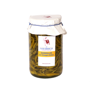 Pickled Guindilla Peppers (1900ml) - Natural Spanish Vegetables Online