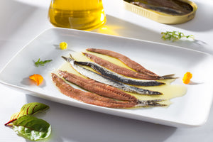 Cantábrico Anchovy Fillets in Extra Virgin Olive Oil  [105g Can | Butterfly]