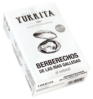 Berberechos Cockles in Brine [120g Can]