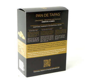 Buy Squere Piquitos Pan de Tapas Spanish Crackers (160g) Online